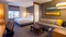 Hyatt Place Midway - The standard king bed includes a a 42