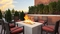 Hyatt Place Midway - Relax by the hotels patio surrounded by the beautiful outdoor fire pit.