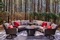 Country Inn & Suites RDU Airport - Gather with friends and sit by the fire in the hotel's cozy outdoor patio area.