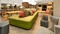 Home2 Suites Newark Airport - The lobby has a variety of seating to suit everyone.