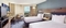 Hilton Newark Airport - The standard, spacious room includes a 42