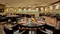 DoubleTree by Hilton BWI Airport - Eden's Landing dining seating. The restaurant is open from 6:00 AM to 10:00 PM.