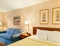 Days Hotel by Wyndham Buffalo Airport - The standard room with a king size bed includes a mini fridge, microwave, and coffee maker.